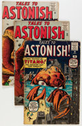 Silver Age (1956-1969):Horror, Tales to Astonish UK Editions Group (Marvel, 1960-64) Condition:Average GD-.... (Total: 25 Comic Books)