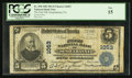 National Bank Notes:Pennsylvania, Susquehanna, PA - $5 1902 Plain Back Fr. 598 The First NB Ch. #1053. ...