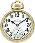 Timepieces:Pocket (post 1900), Illinois 23 Jewel Sixty Hour Bunn Special. ...