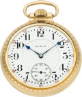 Timepieces:Pocket (post 1900), Elgin 23 Jewel 16 Size Veritas, circa 1911. ...