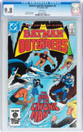 Modern Age (1980-Present):Superhero, Batman and the Outsiders #6, 10, and 12 CGC-Graded Group (DC, 1984) CGC NM/MT 9.8 White pages.... (Total: 3 Comic Books)
