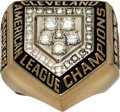 Baseball Collectibles:Others, 1997 Cleveland Indians American League Championship Ring. ...