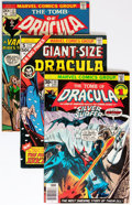 Bronze Age (1970-1979):Horror, Tomb of Dracula Group (Marvel, 1973-79) Condition: Average FN....(Total: 25 Comic Books)