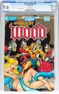 Modern Age (1980-Present):Science Fiction, World of Wood #4 (Eclipse, 1986) CGC NM+ 9.6 White pages....