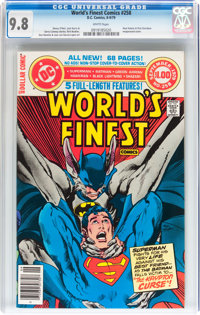 World's Finest Comics #258 (DC, 1979) CGC NM/MT 9.8 White pages