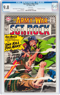Our Army at War #174 (DC, 1966) CGC NM/MT 9.8 White pages
