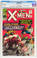 Silver Age (1956-1969):Superhero, X-Men #12 (Marvel, 1965) CGC NM 9.4 Off-white to white pages....
