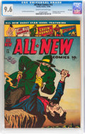 Golden Age (1938-1955):Superhero, All New Comics #13 File Copy (Family Comics, 1946) CGC NM+ 9.6 Cream to off-white pages....