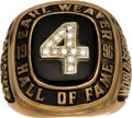 Baseball Collectibles:Others, 1996 Earl Weaver Day Presentation Ring. ...
