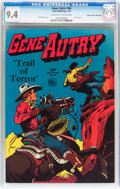 Golden Age (1938-1955):Western, Four Color #66 Gene Autry - Mile High Pedigree (Dell, 1945) CGC NM9.4 Off-white to white pages....
