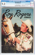 Golden Age (1938-1955):Western, Four Color #117 Roy Rogers Comics - Mile High Pedigree (Dell, 1946)CGC NM- 9.2 Off-white to white pages....