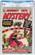 Silver Age (1956-1969):Superhero, Journey Into Mystery #83 (Marvel, 1962) CGC VF 8.0 Off-white towhite pages....