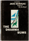 Books:Literature 1900-up, Jack Kerouac. The Dharma Bums. New York: Viking, [1958].First edition, first printing. Publisher's black cloth bind...