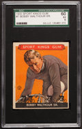 Olympic Cards:General, 1933 Goudey Sport Kings Bobby Walthour #7 SGC 60 EX 5....