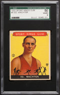 Basketball Cards:Singles (Pre-1970), 1933 Goudey Sport Kings Ed Watcher #5 SGC 50 VG/EX 4....