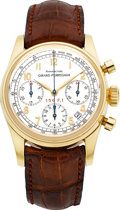 "Timepieces:Wristwatch, Girard Perregaux Ref. 4945, Limited Edition No. 42/50 Gold ""FerrariChronograph 156.F.1"". ..."