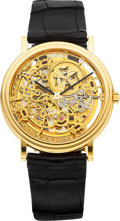 Timepieces:Wristwatch, Vacheron Constantin Ref. 43038 Very Fine Gold Skeletonized Automatic. ...