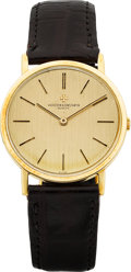 Timepieces:Wristwatch, Vacheron Constantin Ref. 7593 Gent's Gold Wristwatch, circa 1969. ...