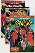 Bronze Age (1970-1979):Horror, Tomb of Dracula Group (Marvel, 1974-78) Condition: Average NM-....(Total: 10 Comic Books)