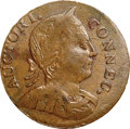 Colonials, 1786 COPPER Connecticut Copper, Mailed Bust Right, Noble Head XF45+ NGC. M. 2.2-D.2, W-2475, R.6. ...