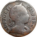 Colonials, 1786 COPPER Connecticut Copper, Mailed Bust Right, Scholar's Head VG8 NGC. M. 3-D.1, W-2510, High R.5. ...