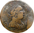 Colonials, 1788 COPPER Connecticut Copper, Mailed Bust Right GEORGIVS III Fine 12 NGC. M. 101-D, Vlack 13-88CT, R.5. ...