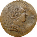 Colonials, 1788 COPPER Connecticut Copper, Mailed Bust Right GEORGIVS III VF25 NGC. M. 101-D, Vlack 13-88CT, R.5. ...