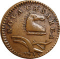 Colonials, 1786 COPPER New Jersey Copper, Bridle Obverse AU53 NGC. M. 18-N, W-4895, High R.5. ...
