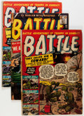 Golden Age (1938-1955):War, Battle Group (Marvel, 1951-60) Condition: Average FR.... (Total: 37 Comic Books)