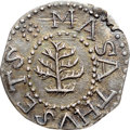 Colonials, 1652 3PENCE Pine Tree Threepence, Without Pellets at Trunk MS63 NGC. Noe-36, W-640, Salmon 2-B, R.4. ...