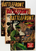 Golden Age (1938-1955):War, Battlefront Group (Atlas, 1952-57) Condition: Average FR.... (Total: 28 Comic Books)