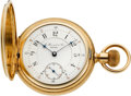 Timepieces:Pocket (pre 1900) , E. Howard & Co. Boston Gold Series VII Split Plate, circa 1894. ...