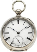 Timepieces:Pocket (pre 1900) , American Watch Co. Rare Dennison, Howard & Davis, No. 2982,circa 1857. ...