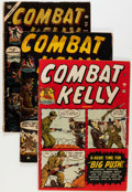 Golden Age (1938-1955):War, Combat Kelly Group (Atlas, 1952-57) Condition: Average FR....(Total: 26 Comic Books)