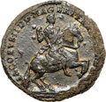 Colonials, (1688) TOKEN American Plantation Token, HB REX -- Corrosion - NGC Details. XF. N. 1-A, W-1130, R.7. ...