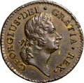 Colonials, 1723 1/2P Rosa Americana Halfpenny, Uncrowned AU55 NGC. Martin 3.5-E.1, W-1232, R.4. ...
