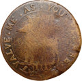 Colonials, 1737 COPPER Higley Copper, VALVE ME AS YOU PLEASE VG8 NGC. Unknownto Crosby, Freidus 2-B.a, W-8225, R.8. ...