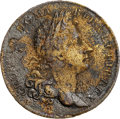 Colonials, 1724 2PENCE Rosa Americana Pattern Twopence -- Corrosion -- NGC Details. XF. Martin 5.1-H.1, W-1358, R.7. ...
