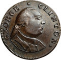 Colonials, 1787 COPPER New York Excelsior Copper, George Clinton MS63 BrownNGC. Crosby Plate VIII Number 5, Figure 62, Breen-989, W-579...