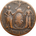 Colonials, 1787 COPPER New York Excelsior Copper, Eagle Right VF25 NGC.W-5780, Breen-979, High R.6. ...