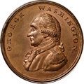 Colonials, Undated PENNY Washington Liberty & Security Penny MS65 Red NGC. Baker-30, W-11050, R.2. ...