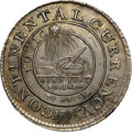 Colonials, 1776 $1 Continental Dollar, CURRENCY, Silver, EG FECIT MS63 NGC. Newman 3-D, W-8470, R.8. ...