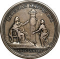 Betts Medals, 1783 Peace of Versailles. VF30 NGC. Betts-608. Eimer-803. ...