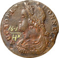 Colonials, 1788 COPPER Connecticut Copper, Draped Bust Left VF30 NGC. M. 16.1-H, W-4600, R.4. ...