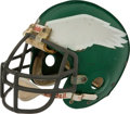Football Collectibles:Helmets, Mid to Late 1970's Philadelphia Eagles Game Worn Helmet - Possibly Worn by Vince Papale....