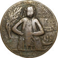 Betts Medals, 1739 Admiral Vernon Medal, Fort Chagre, Fine 15 NGC. Betts-275,Adams FCv 5-D, R.5.. ...