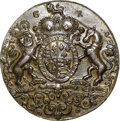 Betts Medals, 1739 Admiral Vernon Medal, Porto Bello, MS62 NGC. Betts-Unlisted,Adams PB 2-B, R.7....