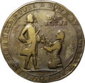 Betts Medals, 1739 Admiral Vernon Medal, Porto Bello, -- Damaged -- NGC Details.VF. Betts-302, Adams PBvl 5-D, R.5.. ...