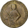 Betts Medals, 1739 Admiral Vernon Medal, Porto Bello, VF25 NGC. Betts-Unlisted,Adams PBv 40-MM, R.6....