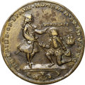 Betts Medals, 1741 Admiral Vernon Medal, Cartagena, XF45 NGC. Betts-326, AdamsCAvl 1-A, R.6.. ...
